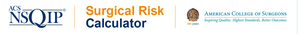 surgical risk calculator